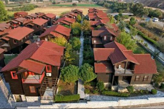 Manyas Osmanlı ahşap villa