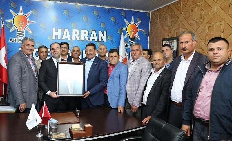 BAŞKAN ÇİFTÇİ: HARRAN'DA STANDARTLARI YÜKSELTİYORUZ