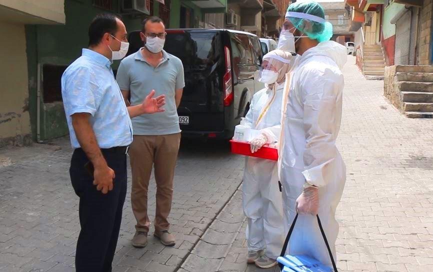 Şanlıurfa'da sağlık çalışanları bayramda da görev başında