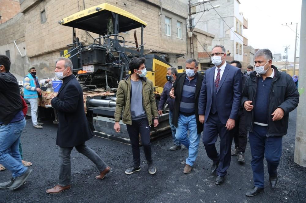 Eyyübiye Belediyesi asfaltlama çalışmalarına devam ediyor