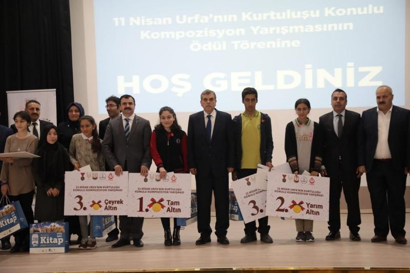 11 Nisan Kompozisyon Yarışmasında Dereceye Girenler Ödüllendirildi