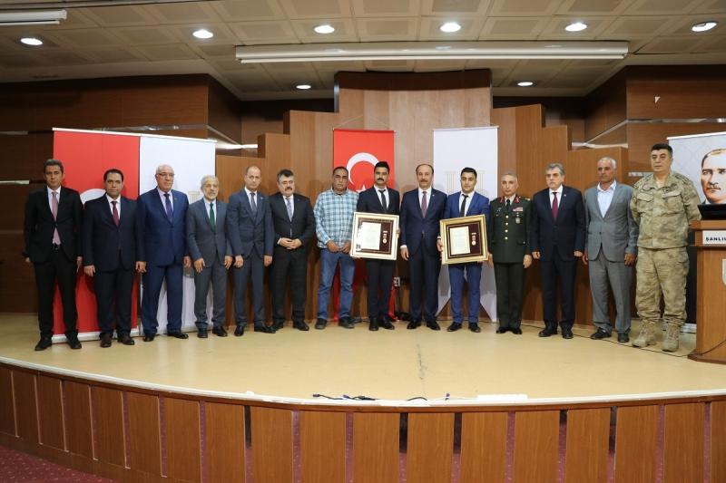 15 Temmuz Gazilerine Devlet Övünç Madalyası Beratı Verildi