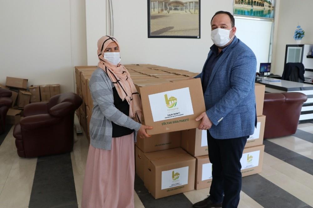 Viranşehir'de çölyak hastalarına gıda desteği