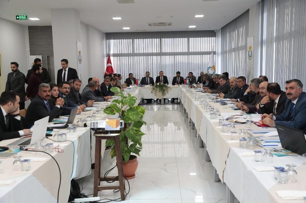 Şanlıurfa'da koordinasyon toplantıları devam ediyor