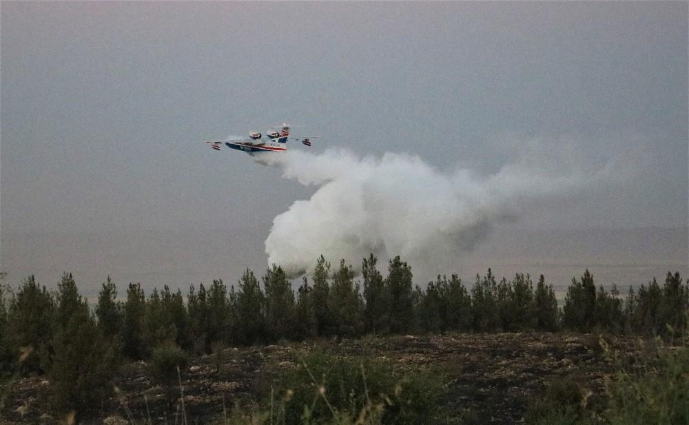 Şanlıurfa'daki orman yangını kontrol altına alındı