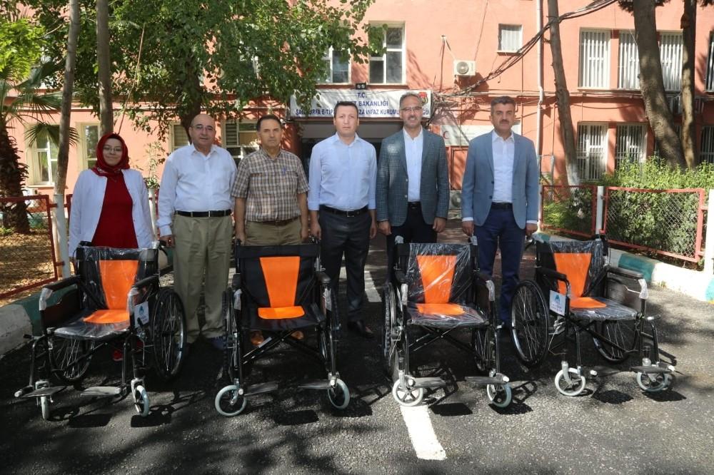 Engelli mahkumların tekerlekli sandalye talebi yerine getirildi