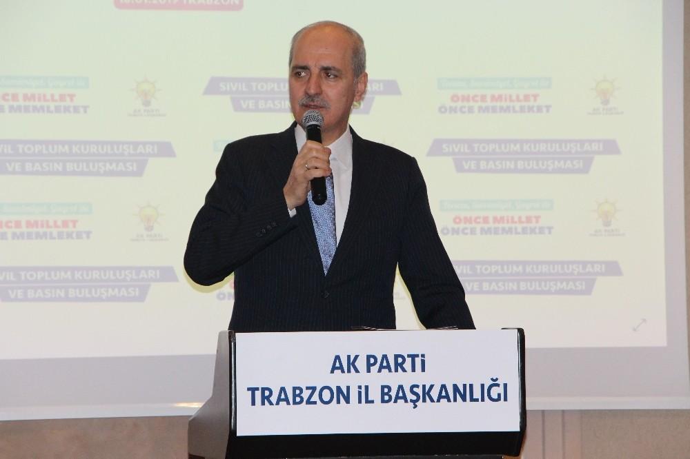 """AK Parti Genel Başkanvekili Kurtulmuş: """"Güvenli bölge bir araç olarak kullanılacaksa bunun Türkiye'ye de, Suriye'ye de faydası yok"""""""