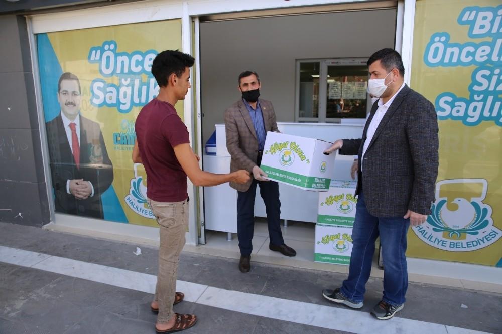 Haliliye'den çölyak hastalarına gıda desteği
