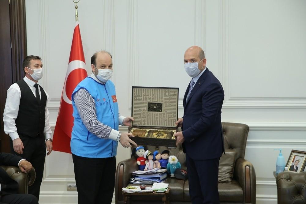 """İçişleri Bakanı Soylu'dan, """"İyilik Konutları""""na destek"""