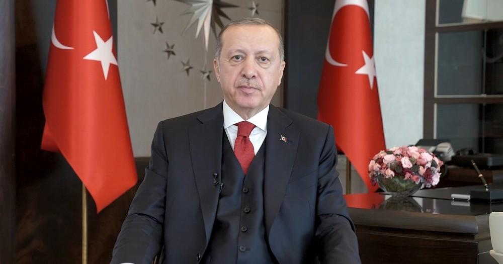 Cumhurbaşkanı Erdoğan Urfa'nın kurtuluş yıl dönümünü kutladı