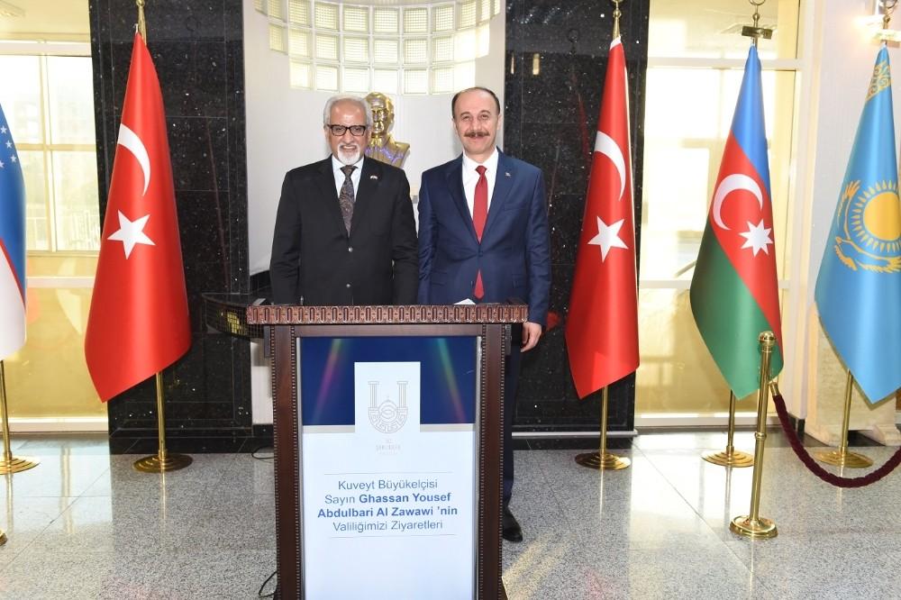 Kuveyt Büyükelçisi Zawawi'den Şanlıurfalılara Teşekkür