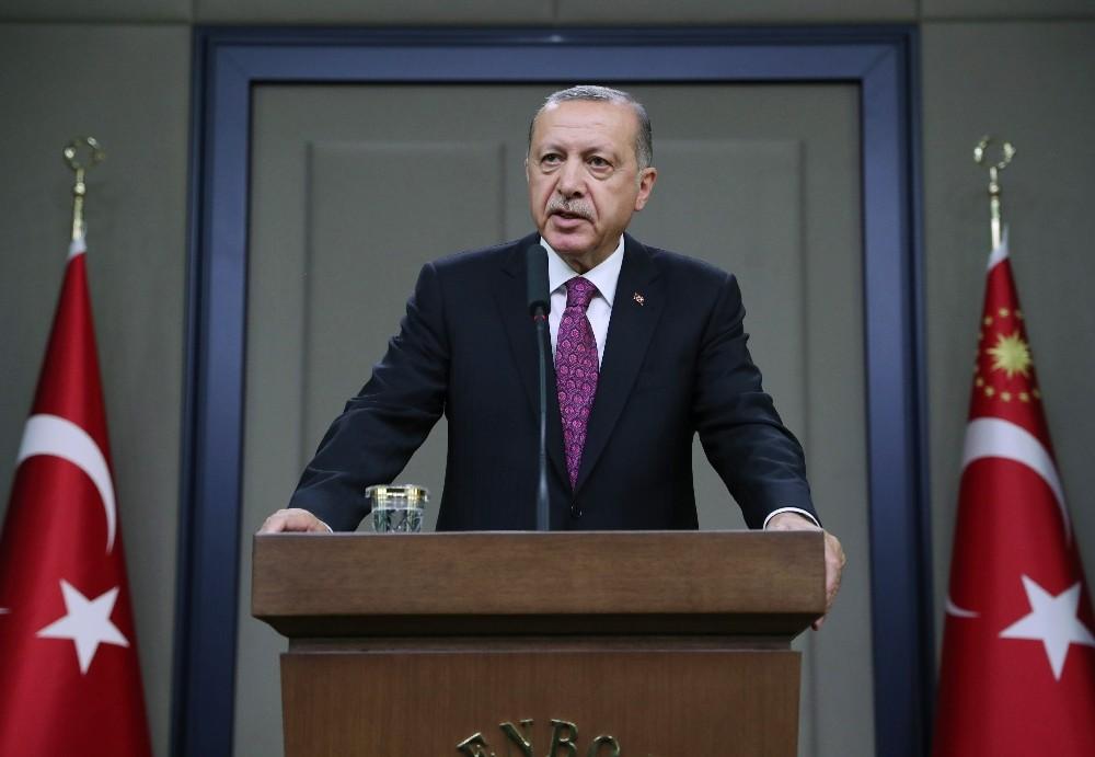 Cumhurbaşkanı Erdoğan: ″İdlib, Tel-Rifat ve Münbiç konusunu tekrar ele alacağız″