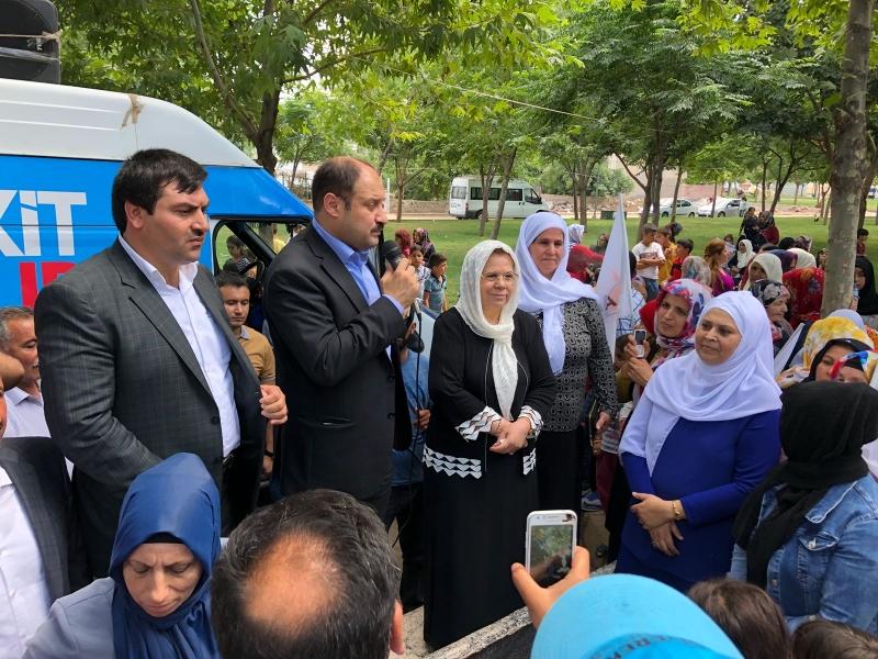 AB Uyum Komisyonu Başkanı AK Vekil Gülpınar kadınlara seslendi