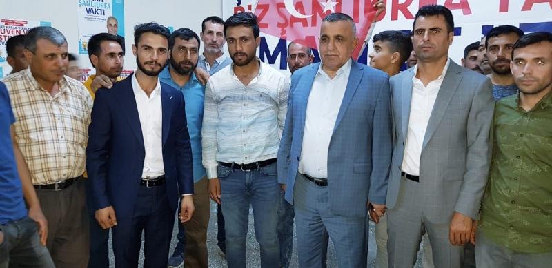 Ahmet Akay'a Kırsal Mahallelerden İnsan Seli