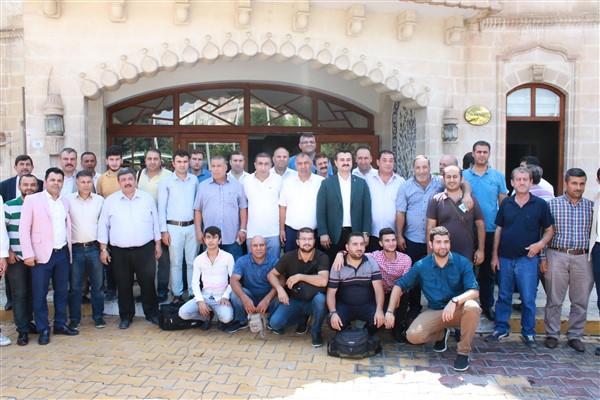 Ak Parti Şanlıurfa İl Başkanı Basın Mensuplarıyla Bir Araya Geldi