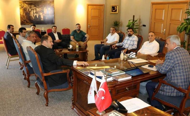 Ak Vekil Gülpınar'dan Tümsiad ve Şutso'ya ziyaret
