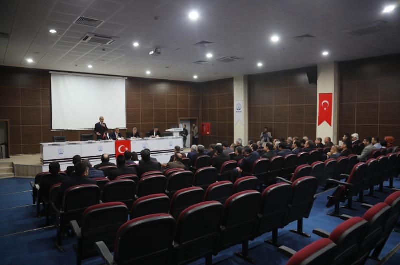 AKÇAKALE 2020 HİZMET PLANLAMA KOORDİNASYON TOPLANTISI YAPILDI