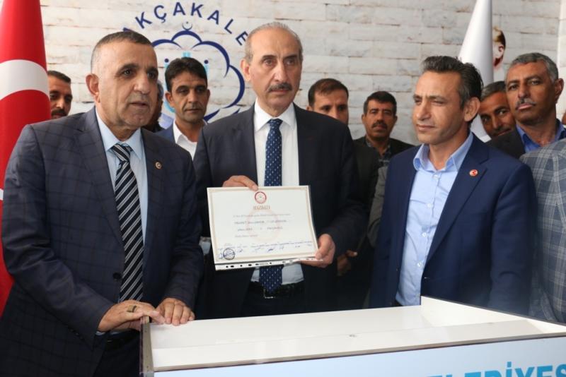 Akçakale Belediye Başkanı Mehmet Yalçınkaya Göreve Başladı