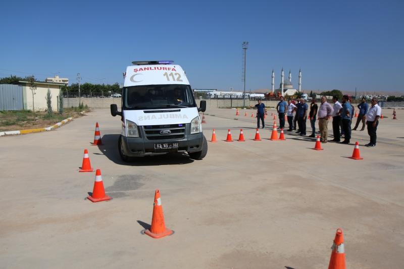 ASTE (Ambulans Sürüş Teknikleri) Eğitimi verildi.