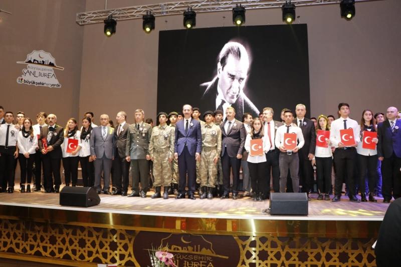 Atatürk 10 Kasım'da Şanlıurfa:'da Anıldı