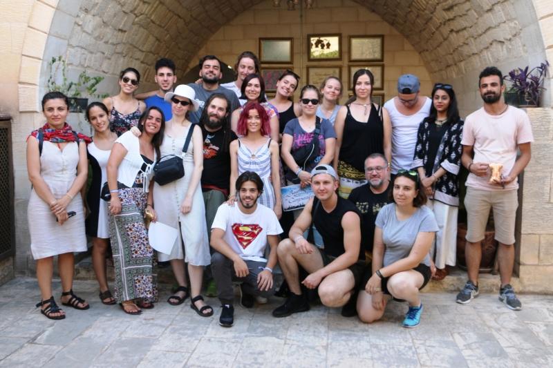Avrupalı Gençler Büyükşehir'in Sanat Sokağın'da