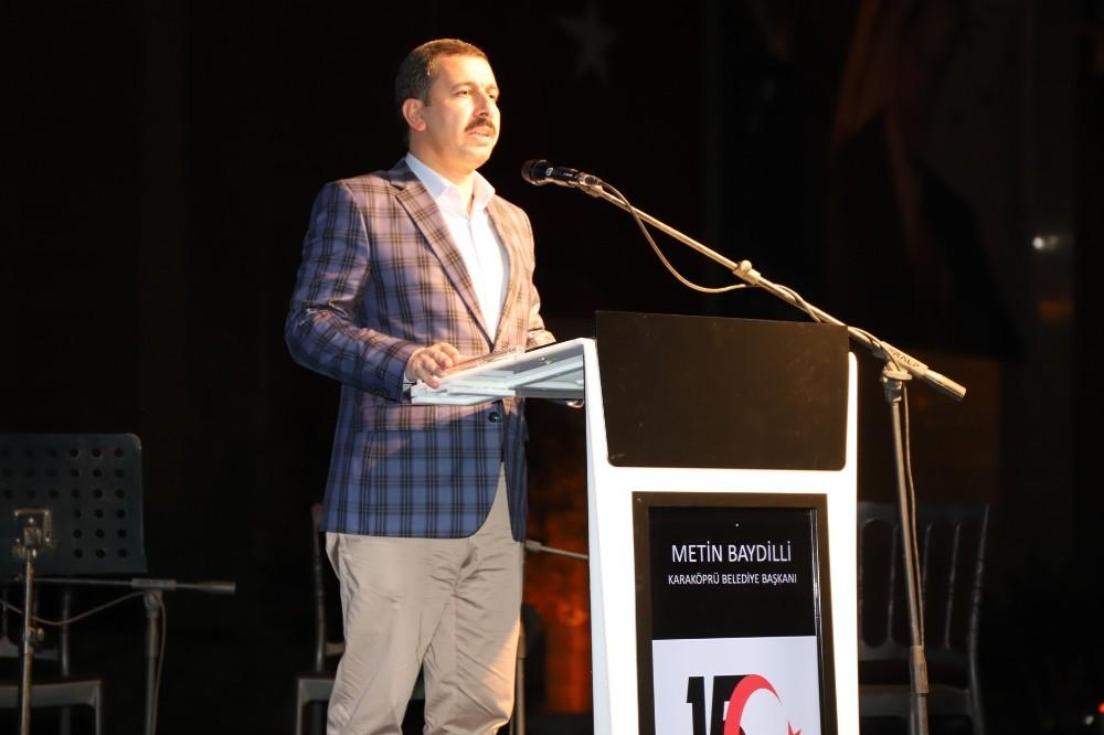 Baydilli'nin 15 Temmuz açıklamaları
