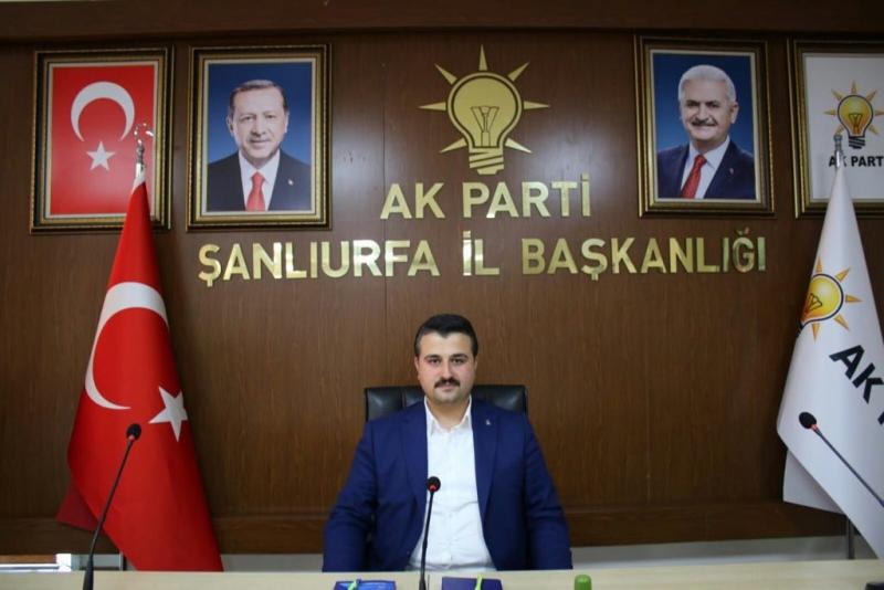 Bahattin Yıldız  AK Parti Şanlıurfa İl Başkanı Oldu