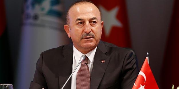 """Bakan Çavuşoğlu: """"Türkiye'de Suriyeli mülteciler için 37 milyar dolar harcandı"""""""
