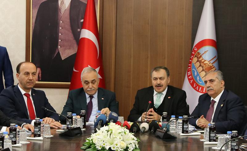 Bakan Eroğlu: Şanlıurfa Orman Fakiri Bir il