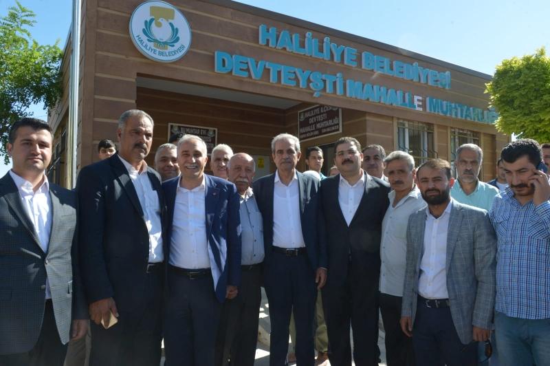 Bakan Fakıbaba'dan  Mahallelere Ziyaret