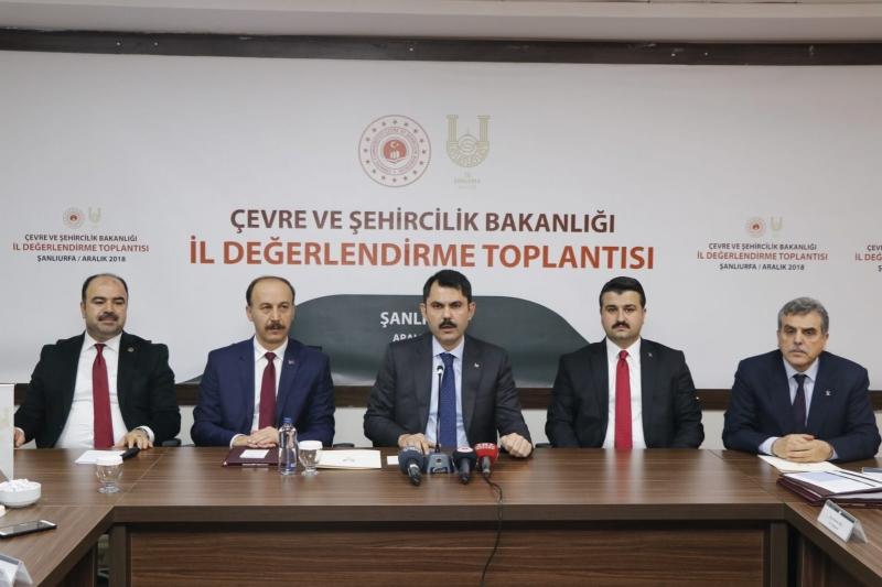 Bakan Kurum Şanlıurfa İçin Projelerini Açıkladı