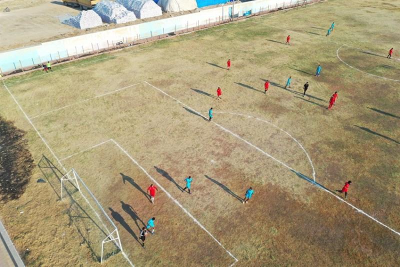 Barış Pınarında Futbol Turnuvası