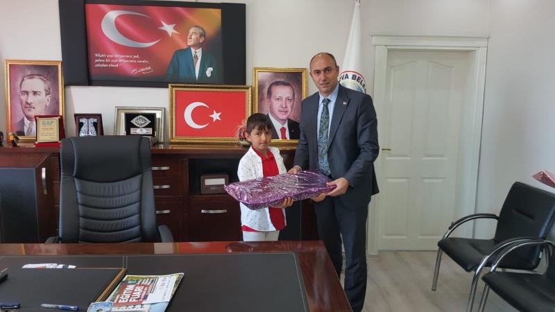 Başkan Aksoy Ahmet Burak Çakmak'a Koltuğunu Devretti