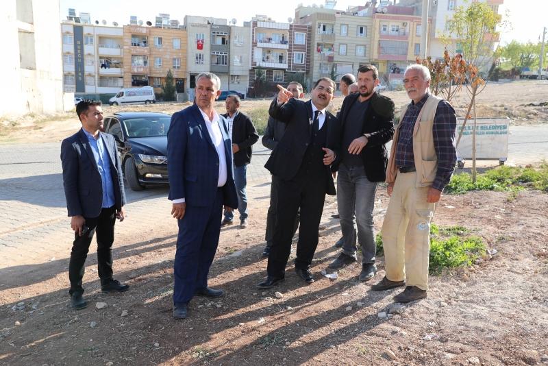 BAŞKAN CANPOLAT, AHMET YESEVİ'DE İNCELEMELERDE BULUNDU