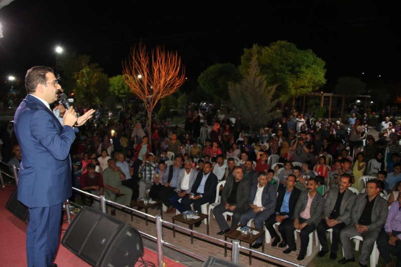 Başkan Canpolat Ramazan Etkinliğinde Müjdeyi Verdi