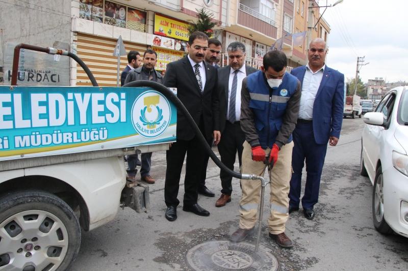 Başkan Canpolat Süleymaniye Mahallesinde İncelemelerde Bulundu
