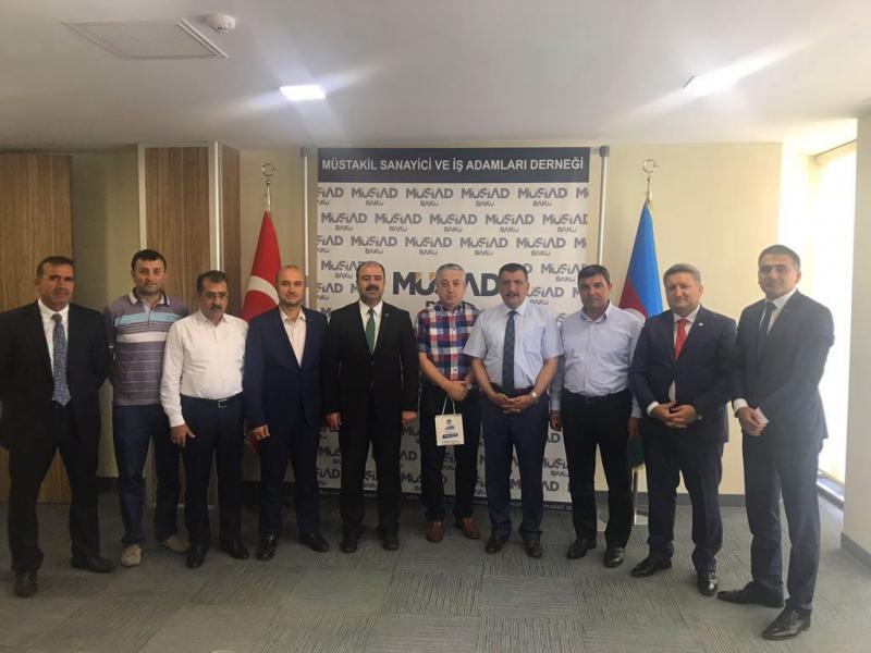 Başkan Çiftçi Azerbaycan'da