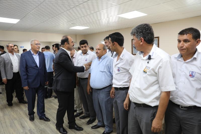 Başkan Çiftçi , Belediye Personeli ile Bayramlaştı