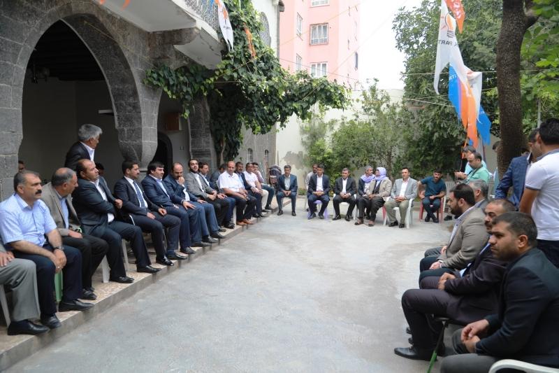 Başkan Çiftçi Siverek'te Çalışmaları Anlattı