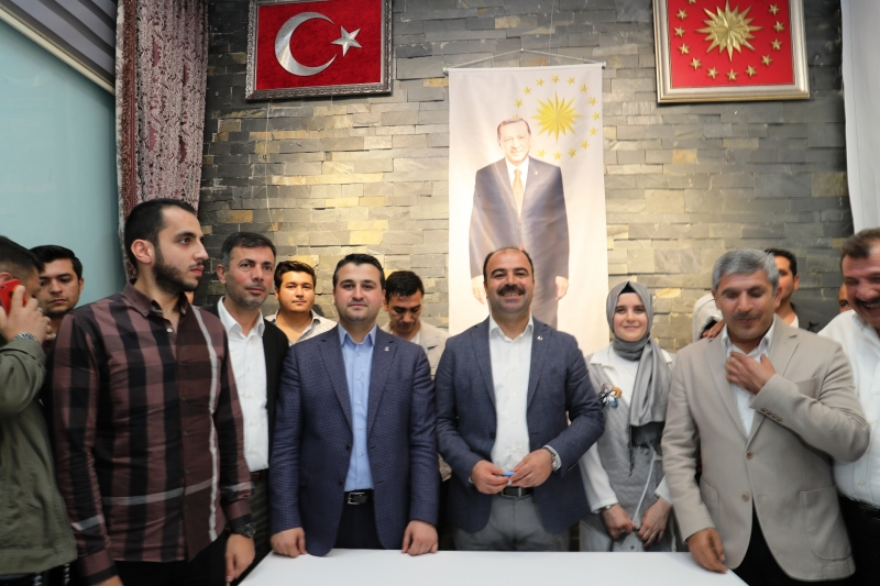 Başkan Çiftçi Türkiye Yoluna Devam Ediyor