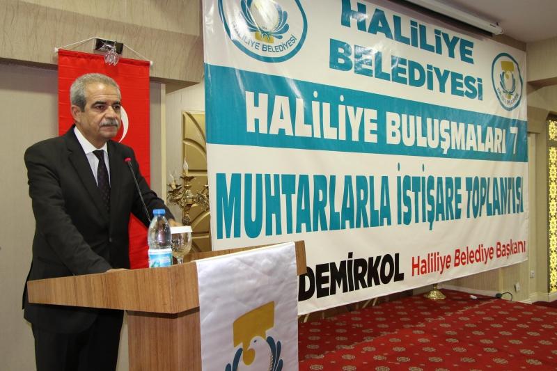 Başkan Demirkol 24 Haziran Seçimleri İçin Muhtarlardan Destek İstedi