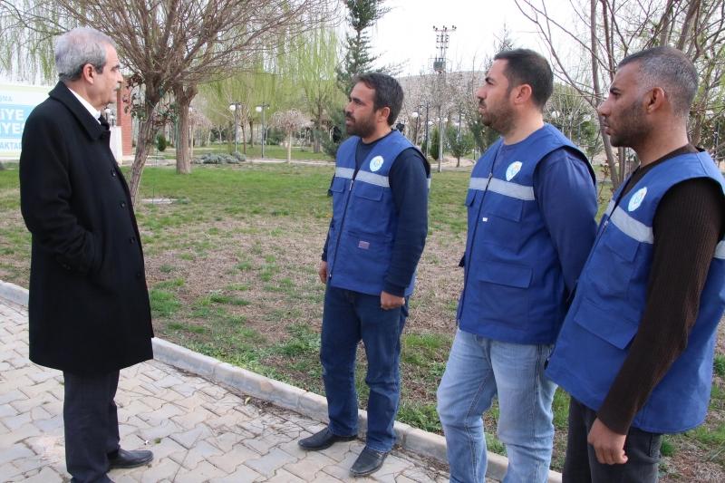 Başkan Demirkol Haliliye Belediyesi Mesire Alanında İncelemelerde Bulundu