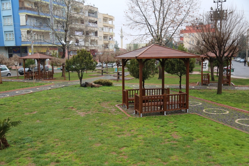 Başkan Demirkol İle Parklar Yaza Hazırlanıyor