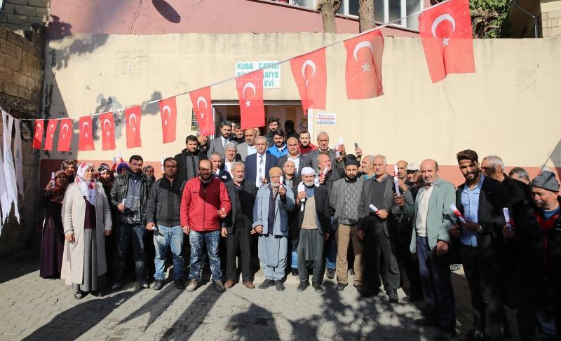Başkan Demirkol Süleymaniye'de 131 Maliki Daha Tapularına Kavuşturdu