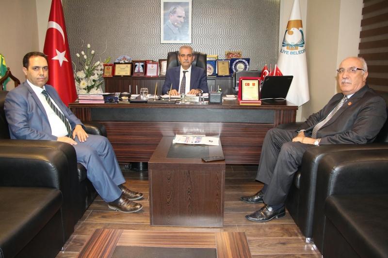 Başkan Demirkol'a Teşekkür Ziyareti