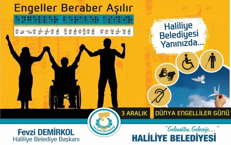 Başkan Demirkol'dan 3 Aralık Dünya Engelliler Günü Mesajı