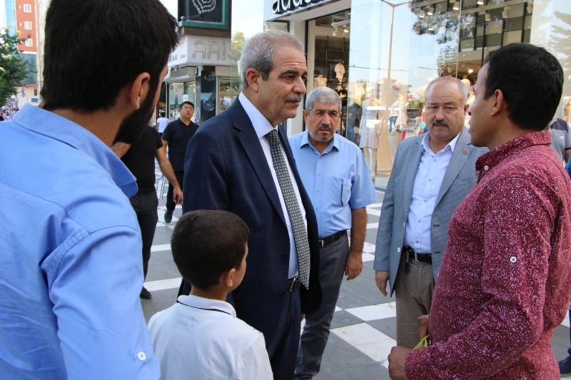 Başkan Demirkol'dan Esnaf Ve Vatandaşlara Teşekkür Ziyareti