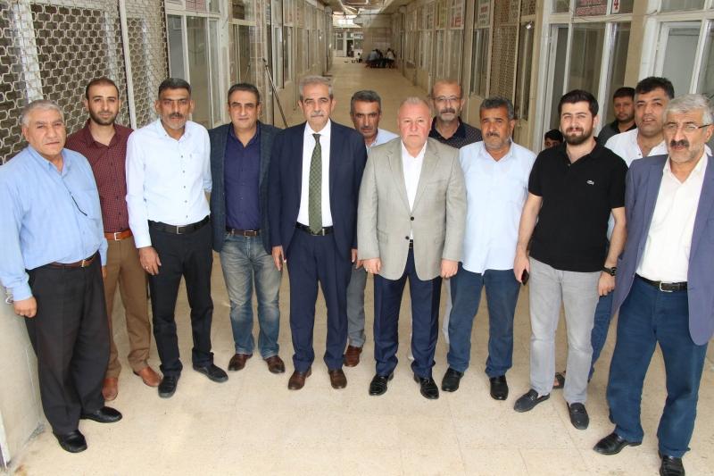 Başkan Demirkol'dan Zahireciler Borsası Esnafına Ziyaret