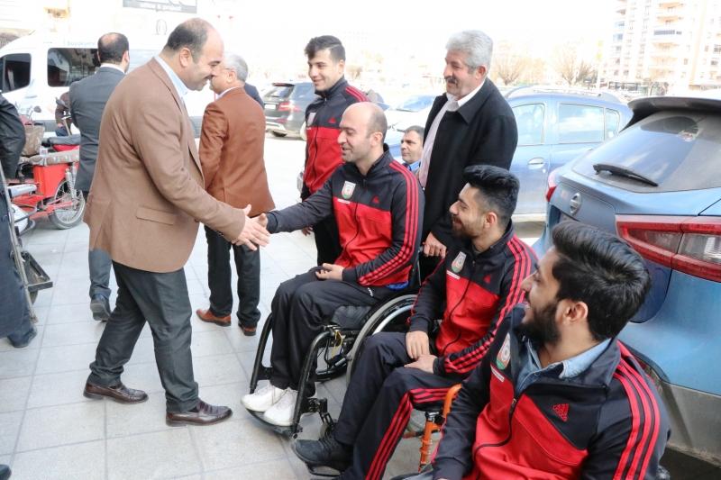 Başkan Nihat Çiftçi Engelli Vatandaşlarla Bir Araya Geldi