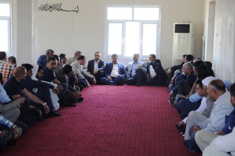 Başkan Nihat Çiftçi 24 Haziran Çalışmalarını Ceylanpınar da Sürdürdü